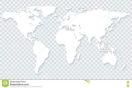 Worldwide map on transparent background vector image transparent world map transparent background white shadow vector eps 78462776 gumiabroncs Gallery