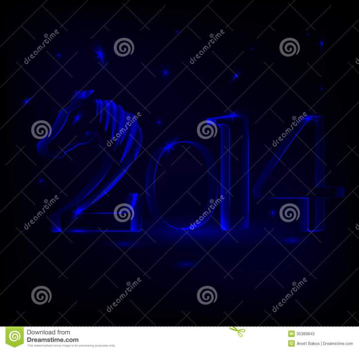 Year Of The Horse  New Years Card 2014 With Glowing Numbers And . 1300 x 1272.New Year 2014 Free Credit Cards Numbers