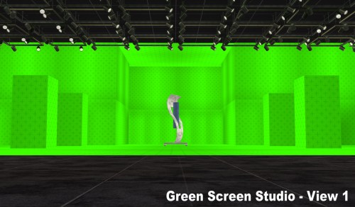 Medium Of Green Screen Paint