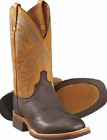 """Lucchese Men's 12"""" Alan Square Toe Western Cowboy Cowhide Boots SIZE 8-13D  $339"""