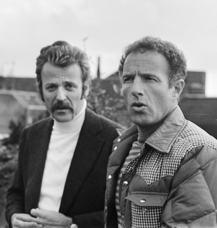William Goldman and James Caan