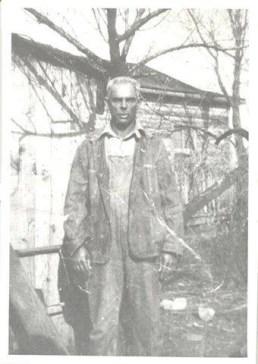 Frizzell Brasier, father of Calvin Brasier, a farmer