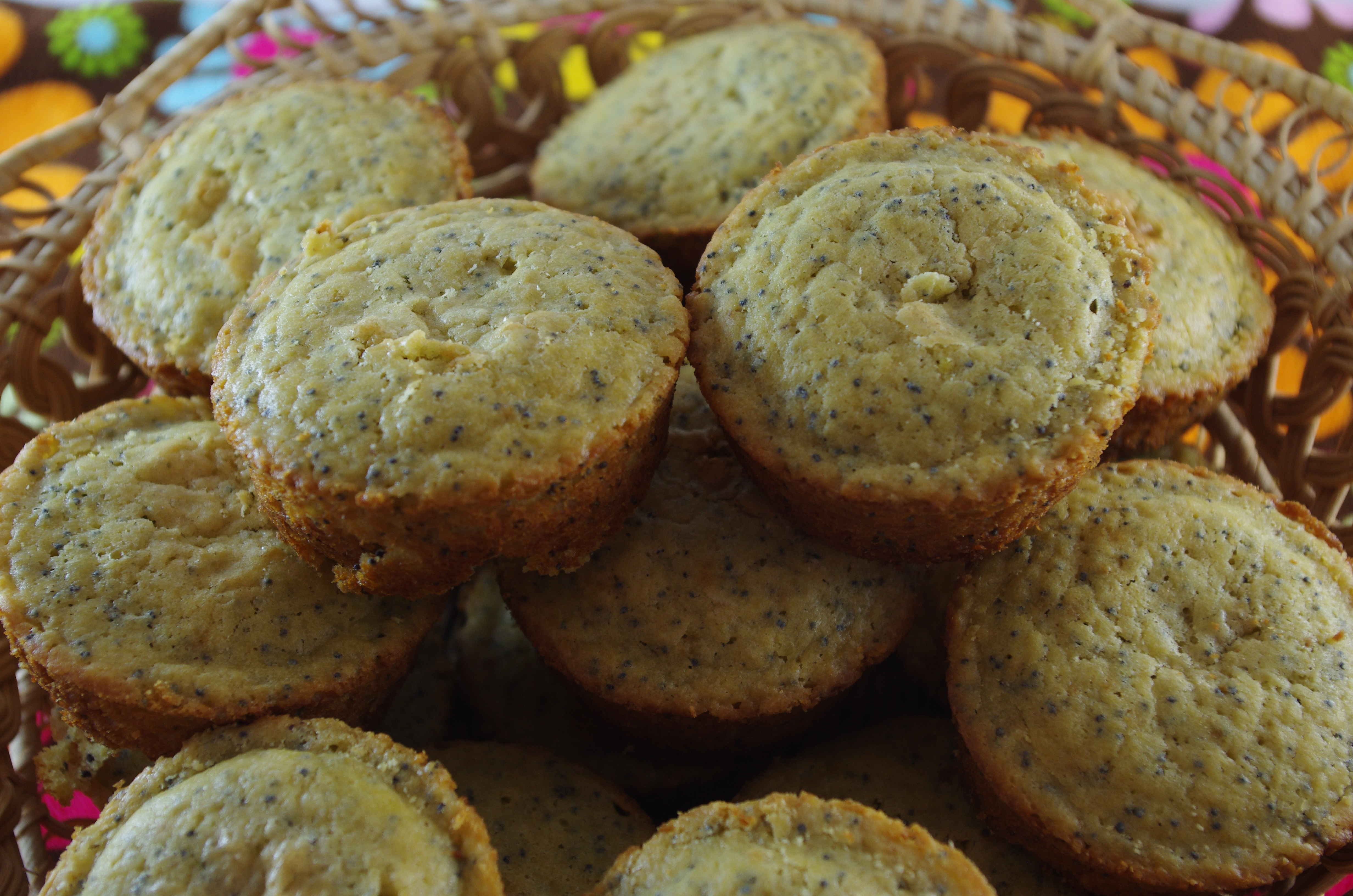 Lemon Poppy Seed Muffins - Gluten Free, Sugar Free - Thyme and ...