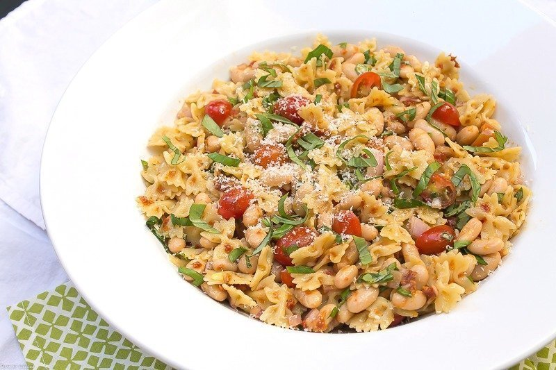 to spruce up your pasta salad. The fresh basil in this Tuscan Pasta ...