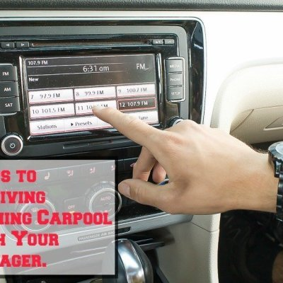 5 Tips to Surviving Morning Carpool With Your Teenager