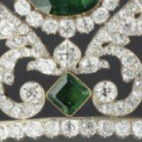 tiara time: Marie Thérèse's Emerald and Diamond Tiara