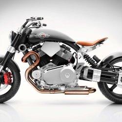Custom-motor-bike-titanium