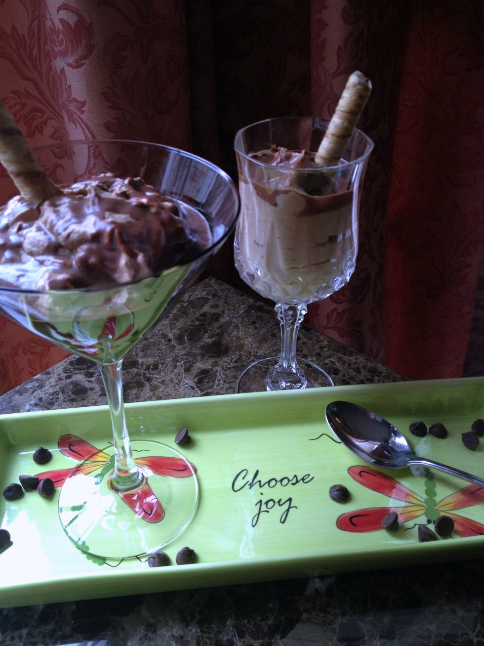 Chocolate Kahlua Mousse | Tidbits of Joy