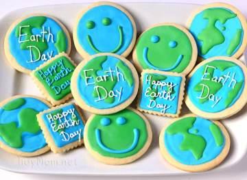 Earth Day Cookies-TidyMom