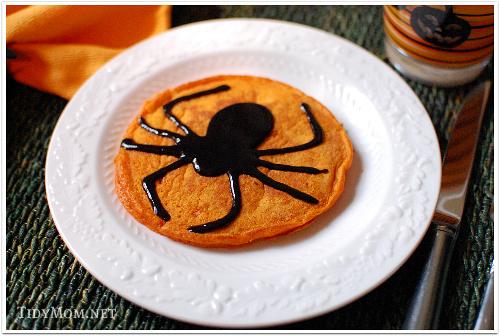 http://i1.wp.com/tidymom.net/wp-content/uploads/2010/09/Pancakes-Spider.jpg