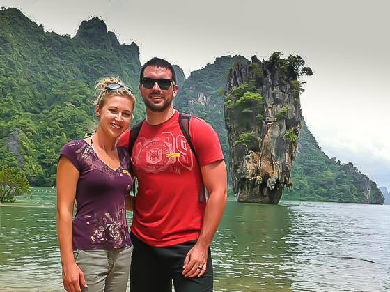Our story began on our honeymoon in Thailand