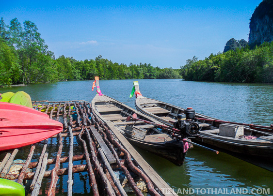 Kayaking things to do in krabi thailand
