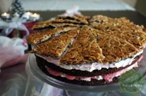 Florentiner-Himbeer-Torte
