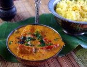 indisches Butter-Chicken vegan