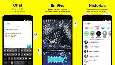 snapchat en español
