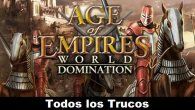 Age of Empires World Domination Todos los Trucos para Android