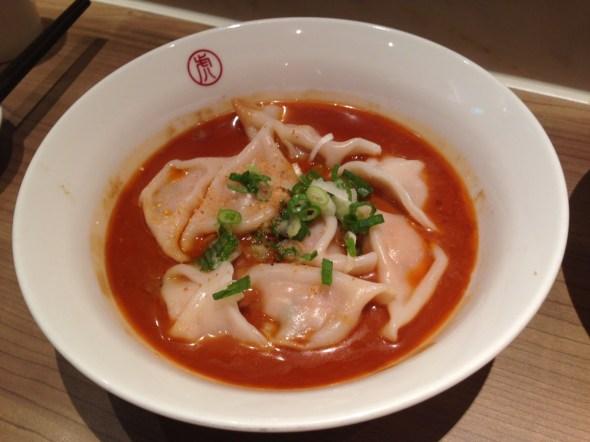 麻醬水餃/Sesame Paste Dumplings