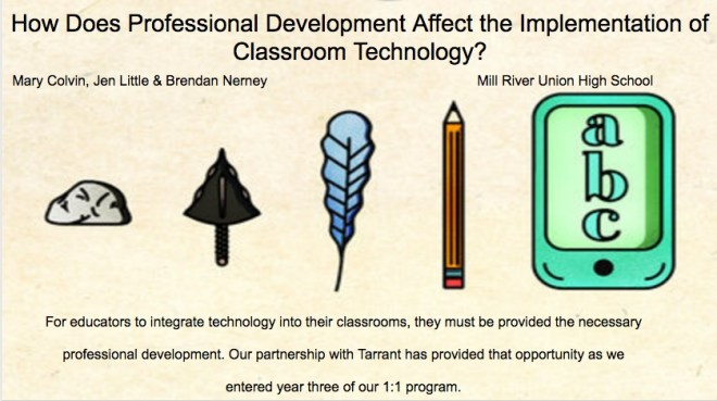 how does professional development affect technology integration
