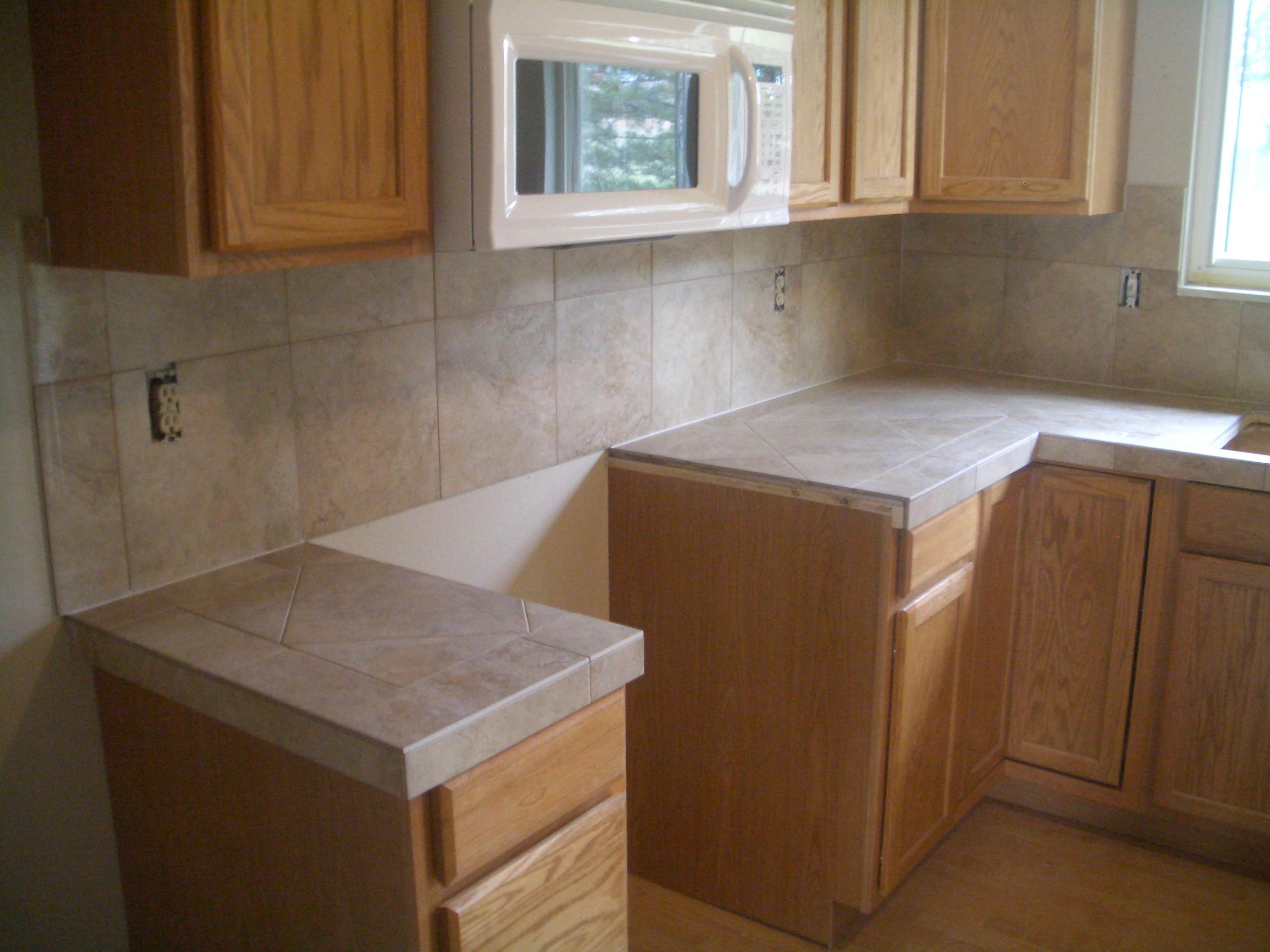 kitchen tile tile kitchen countertops Porcelain kitchen countertops and backsplash