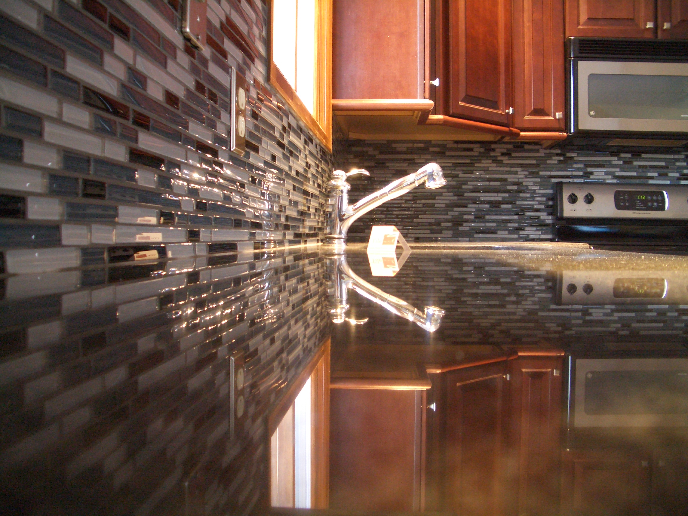 glass tile kitchen backsplash in fort collins backsplash tiles for kitchen Glass tile kitchen backsplash in Fort Collins