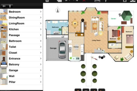 ipad apps room design