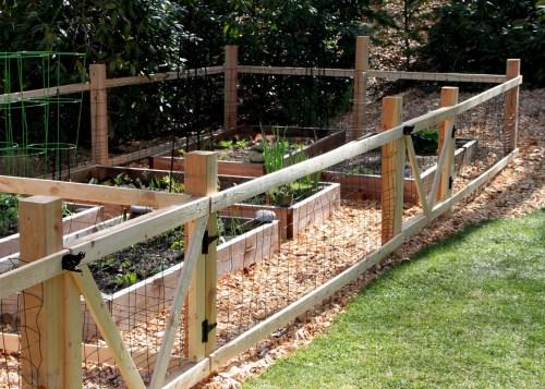 Medium Of Small Garden Fence