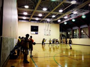 Basketball intramurals at CIF