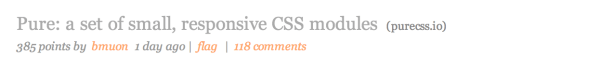 pure-hacker-news