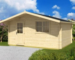 Garden Log Cabin Weekend 14m² / 40mm / 4,7 x 3,5 m