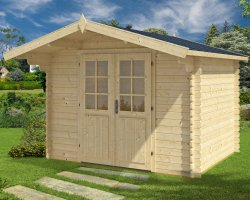 Garden Summer House Lily XL 7,5m² / 28mm / 3 x 3 m