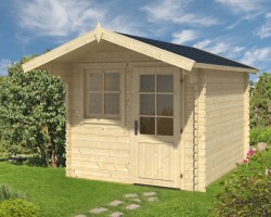Log Cabin Garden Office Monica L 6,2m² / 28mm / 2,5 x 3 m