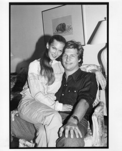 Jeff Bridges and wife Susan on Sept. 21, 1978, in New York, NY.