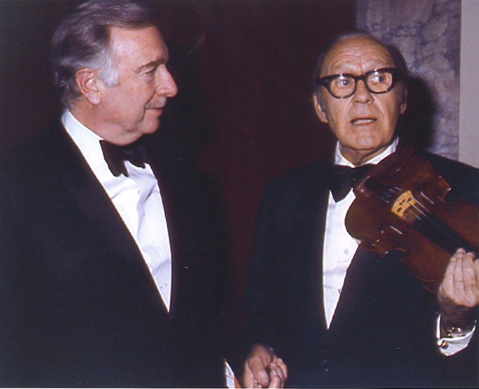 Walter Cronkite, Jack Benny