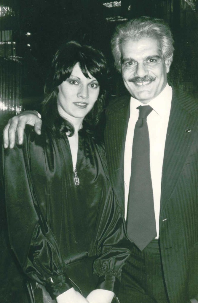 Nina Boxer, Omar Sharif
