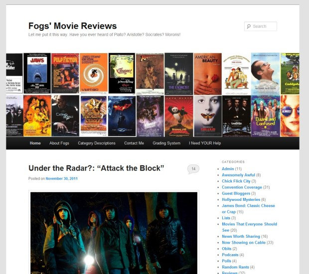 Fogs' Movie Reviews