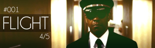 Flight - starring Denzel Washington, directed by Robert Zemeckis