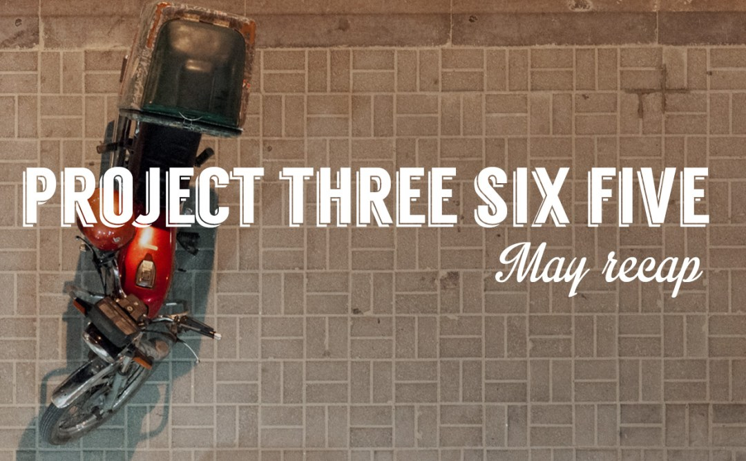 Project 365: 2015 - May Recap
