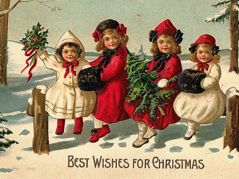 Large Of Vintage Christmas Photos