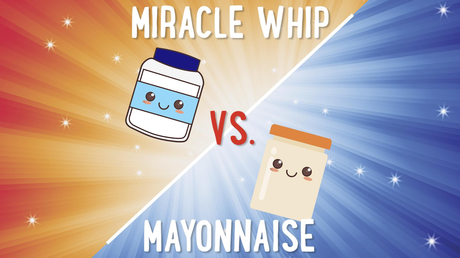 Ritzy Mayonnaise Vs Miracle Whip Video Myrecipes Miracle Whip Vs Mayo Sales Miracle Whip Vs Mayo Deviled Eggs nice food Miracle Whip Vs Mayo