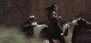 Lone Ranger and Tonto Riding