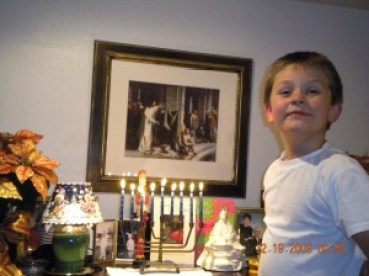 Samuel on the Eight Night of Chanukkah