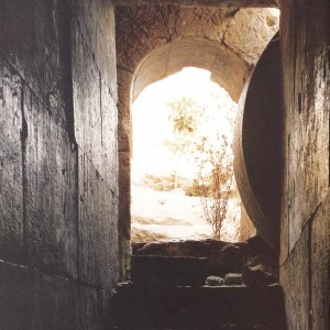 """Empty Tomb,"" Interior View of the Herodian Family Tomb, first century AD, Jerusalem."