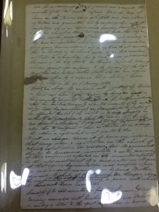 Charges against Missouri Conference Preferred to Joseph Smith, circa March 1832. For a better image, see pages 226 and 227.