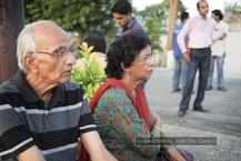 Aarushi's grandparents