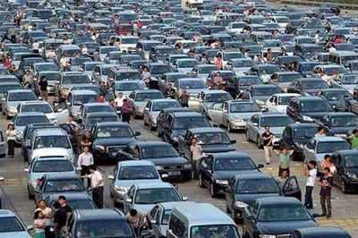 Viral post of  mass desertion  of cars in Germany due to rising fuel     Amidst rising fuel prices in India  a fake message is going viral on social  media and WhatsApp  The message claims that citizens of Germany staged a  protest