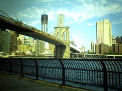 Brooklyn Bridge from Dumbo's View