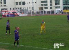 ASU Poli a scos un amical cu Olimpia Satu Mare, deși a jucat o repriză în inferioritate numerică