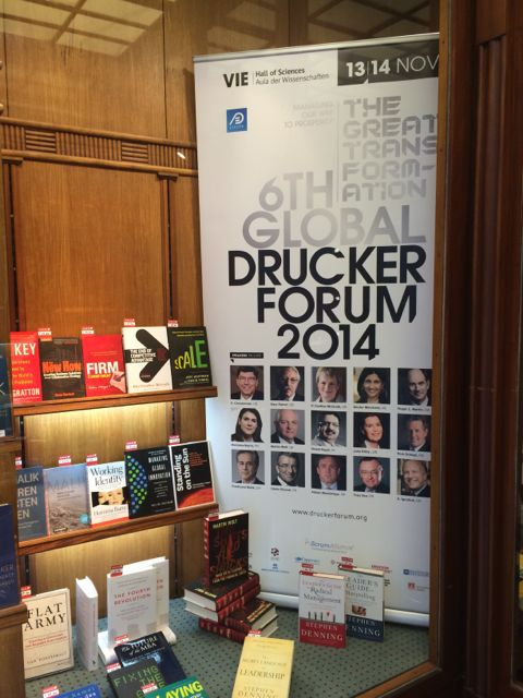 The books of the Global Drucker Forum