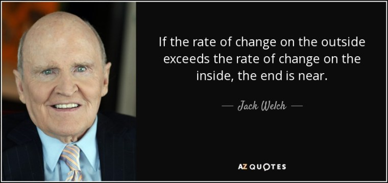 Jack Welch on Change