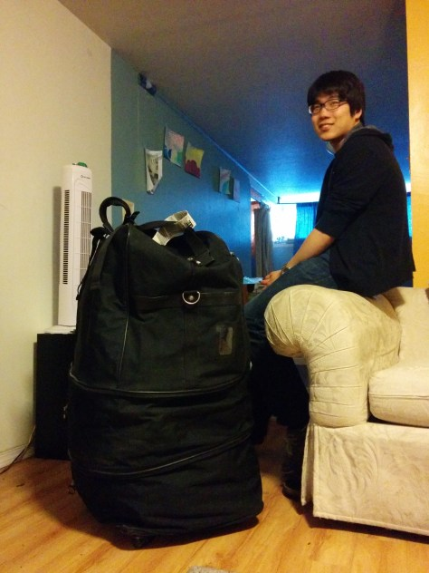 Jemin and His Giant Suitcase